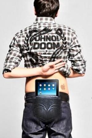 ipadの携帯袋