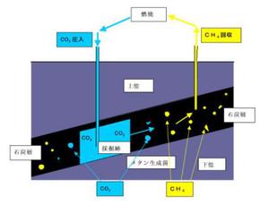 メタンハイドレートの開発