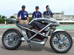 燃料電池バイク